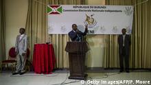 Burundi Wahlen Pierre Claver Ndayicariye