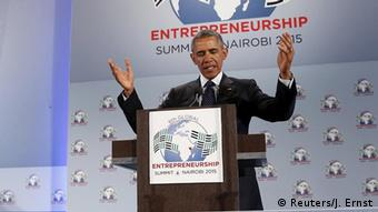 Barack Obama in Kenia beim Global Entrepreneurship Summit