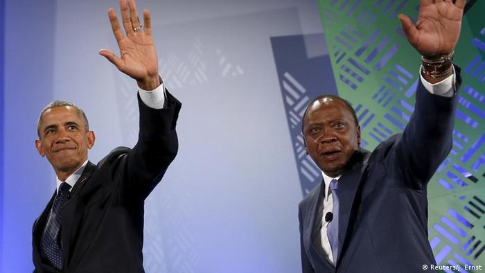 Barack Obama in Kenia beim Global Entrepreneurship Summit