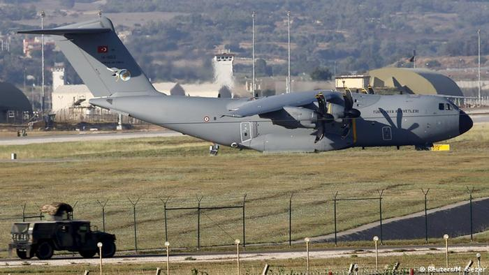 Türkei Air Force A400 auf Incirlik Airbase