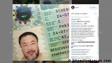 Ai Weiwei: um artista e a política