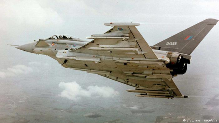 Eurofighter mit Meteor-Raketen
