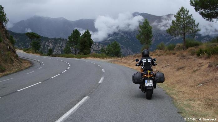 Bildergalerie Die schönsten Motorradreisegebiete in Europa Korsika