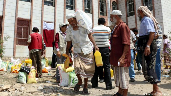 Jemen Taiz Humanitäre Hilfe (Reuters/F. Al Nassar)