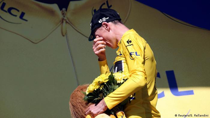 Tour de France 20. Etappe Chris Froome