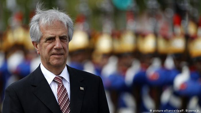 Uruguay Präsident Tabare Vazquez