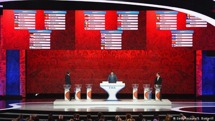 FIFA Qualifikation WM 2018 Russland Auslosung