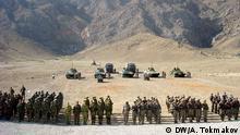 Bildbeschreibung: Antiterroristische Militärübungen in Kirgisien in Juli 2015 Die Bilder hat DW-Korrespondent in Kirgisien Alexander Tokmakov am 24.07.2015 gemacht. Wir haben alle Rechte.