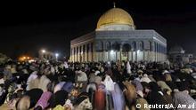 Israel al-Aqsa-Moschee in Jerusalem