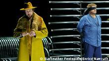 ***Achtung: Nur zur Berichterstattung über diese Inszenierung verwenden!*** 2. Aufzug Pressebilder Bayreuther Festspiele - Inszenierung Tristan und Isolde