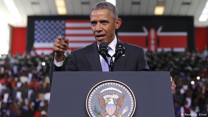 Kenia USA Rede Präsident Barack Obama in Nairobi