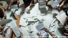 Symbolbild Ukraine Wahl Missstände