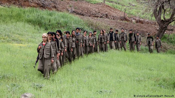 PKK Kämpfer