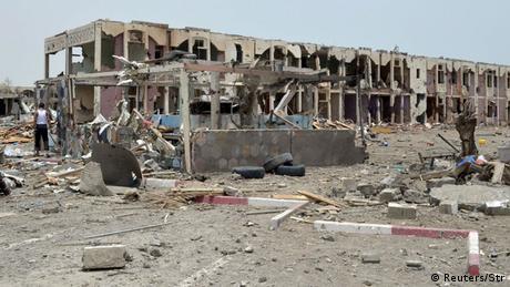 Jemen Luftangriff auf Mocha
