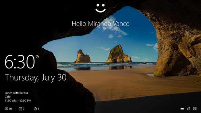 Imagen de portada de Windows 10.