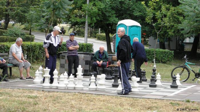 Bosnien und Herzegowina Senioren Schach spielen