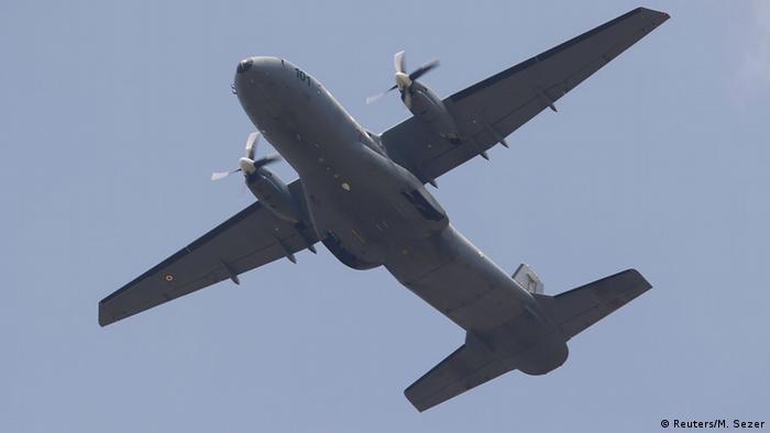 Avión de la Fuerza Armada turca