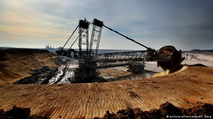 Braunkohle Tagebau Inden
