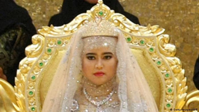 Prinzessin Hajah Hafizah Sururul Bolkiah Brunei Hochzeit (Getty Images/AFP)