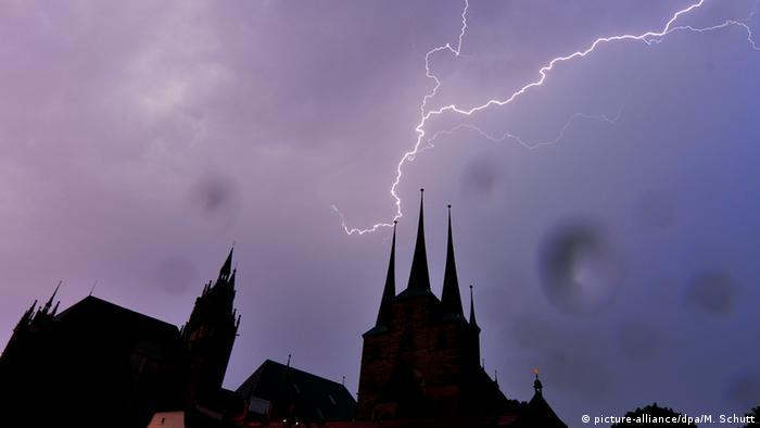 Deutschland Wetter Unwetter