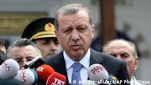 Türkei Recep Tayyip Erdogan PK zu Angriffen auf Syrien