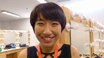 Xin Yu von der Agentur Wu, Foto: DW