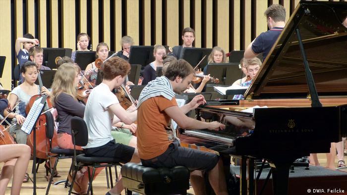 Herbert Schuch am Piano, Foto: DW