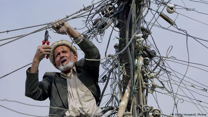 Afghanistan Kabul Elektriker (Getty Images/J. Moore)