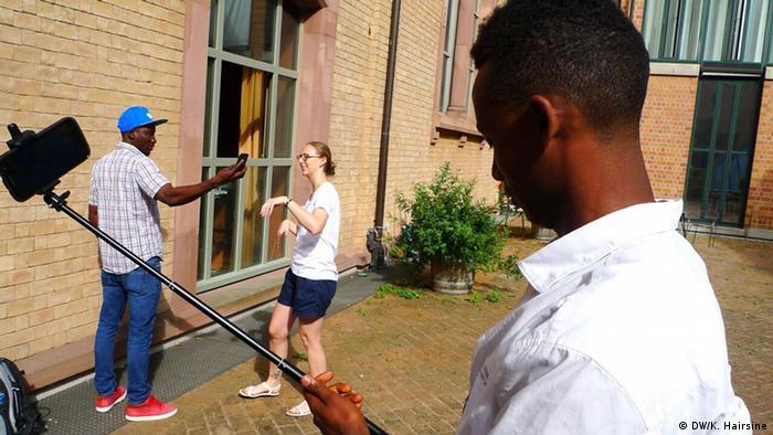 Kunsthalle Karlsruhe Flüchtlinge Kunstunterricht