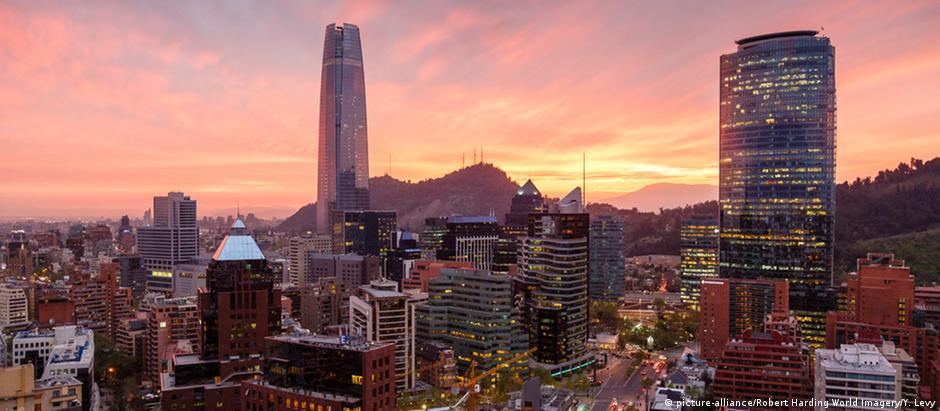 Santiago, capital chilena