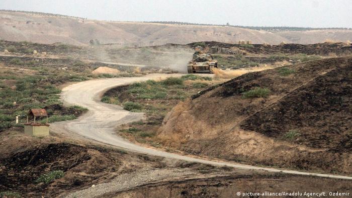 Türkei Grenze zu Syrien