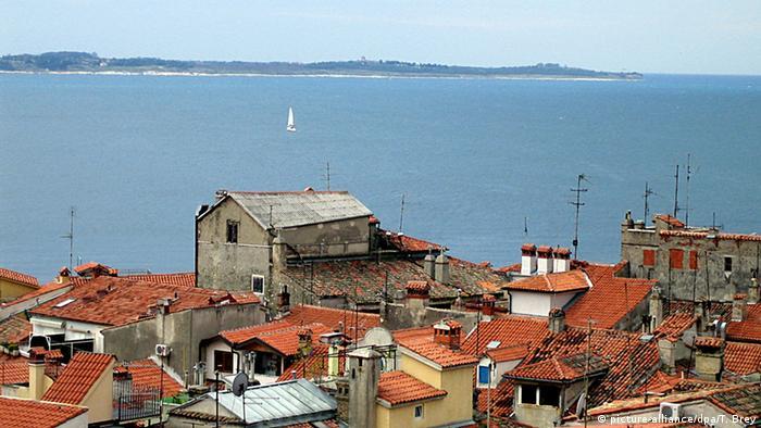 Slowenien Bucht bei Piran