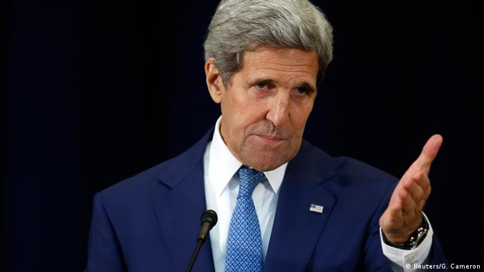 United States Secretary of State John Kerry hosts a State Department ceremony to release The 2015 Trafficking in Persons Report in Washington July 27, 2015 (Photo: REUTERS/Gary Cameron)