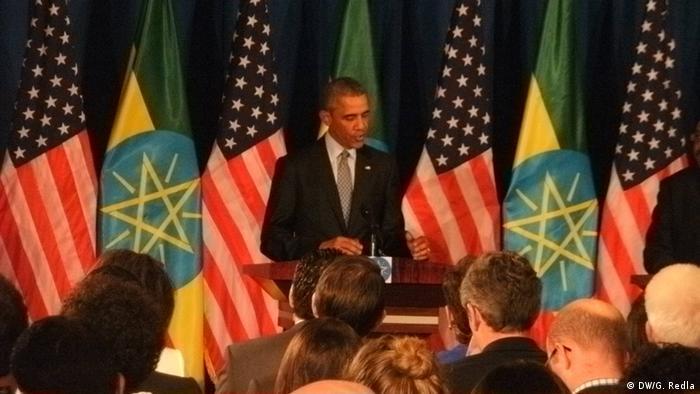 Barack Obama in Äthiopien