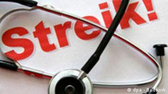 Ärzte Protestwoche in Deutschland Symbolbild