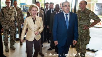 Mali Besuch Bundesverteidigungsministerin Ursula von der Leyen