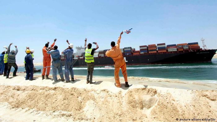 Bildergalerie Ägypten Neuer Suezkanal (picture-alliance/dpa/Str)