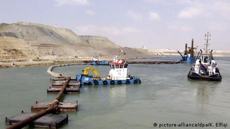 Bildergalerie Ägypten Neuer Suezkanal