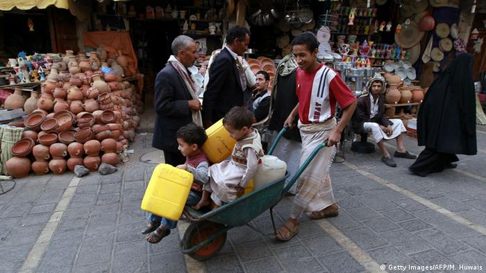 Jemen Markt in Sanaa (Getty Images/AFP/M. Huwais)