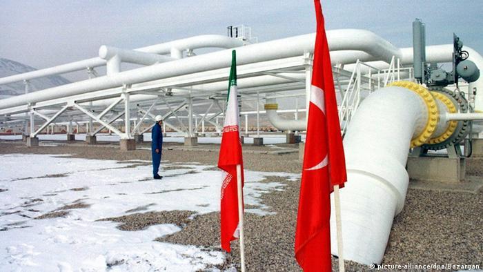 Gas Pipeline Iran Türkei Symbolbild