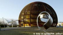 Geng CERN Globe of Science and Innovation Außenansicht