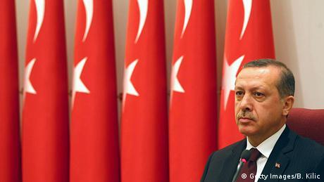 Tayyip Erdogan Türkei Porträt Stimmung nachdenklich