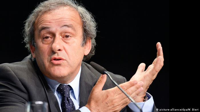 Michel Platini (Foto: picture-alliance/dpa/W. Bieri)
