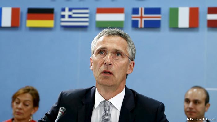 El secretario general de la alianza atlántica, Jens Stoltenberg.