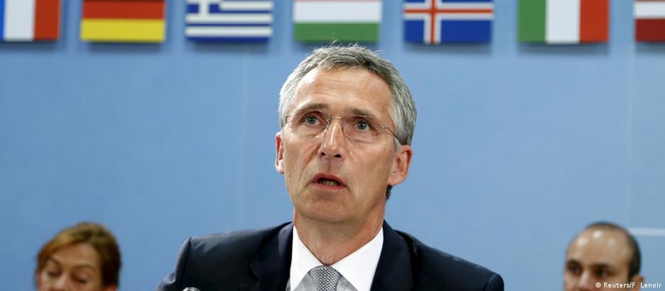 Secretário-geral da Otan, Jens Stoltenberg