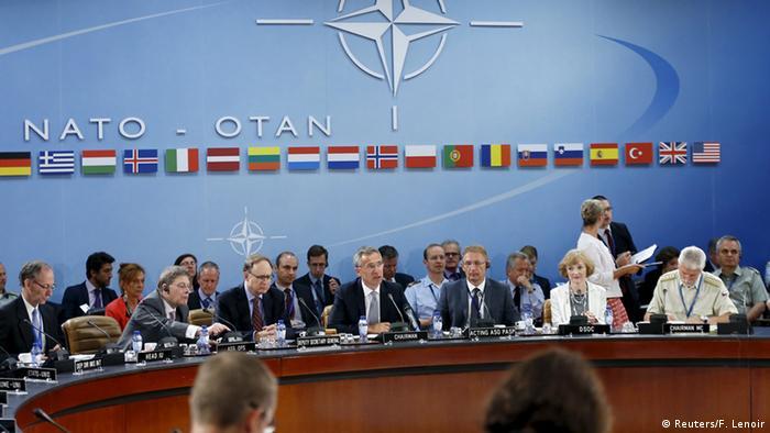 Встреча Совета НАТО в Брюсселе