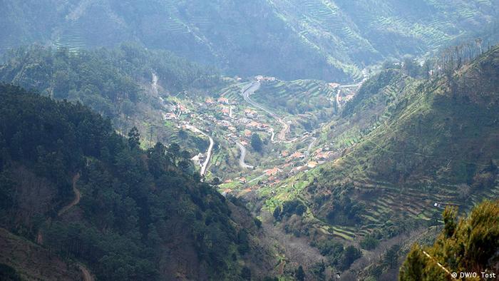 Madeira Motorradreisegebiete Landschaft