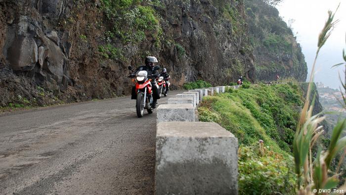 Madeira Motorradfahrer