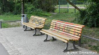 Benches in Görlitzer Park