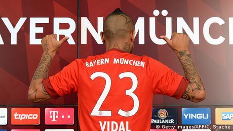 Bayern München - Arturo Vidal